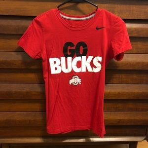 Nike Women's short sleeve Ohio State top